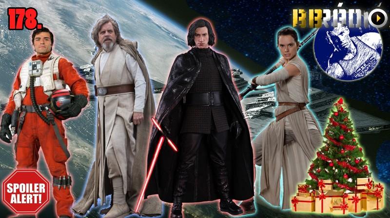 BB.Rádió 178: Star Wars VIII. és karácsony